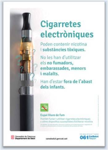 Cartell Cigarretes Electròniques
